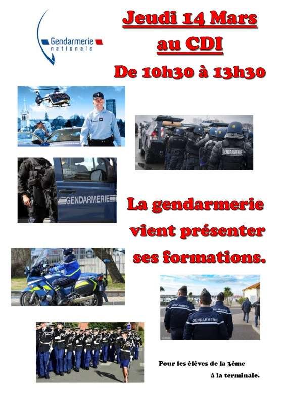 Gendarmerie 14 mars