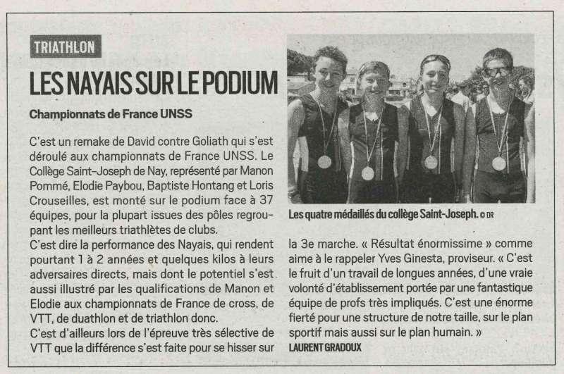 France Triathlon 14 6 2019