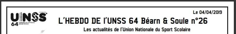 Unss Hebdo 4 4 2019