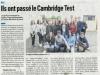 Presse Cambridge test234
